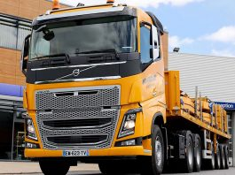 Camion Volvo FH Montagrues