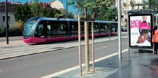 chantier tramway grand avignon bordures bonna sabla