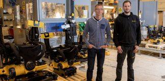 engcon Mats Erik Wiktorsson Quality Manager et Håkan Näsström Test Manager