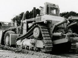 Caterpillar bulldozer cat D10