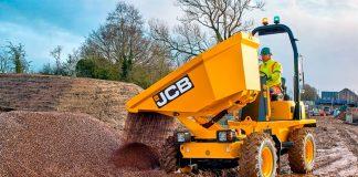 JCB dumper 3 tonnes