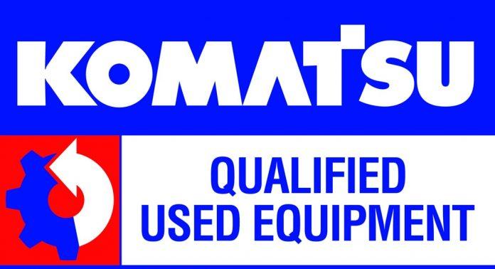 Komatsu Qualified Logo