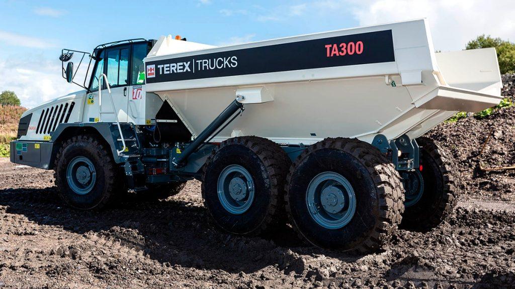Terex trucks tombereau articule TA300