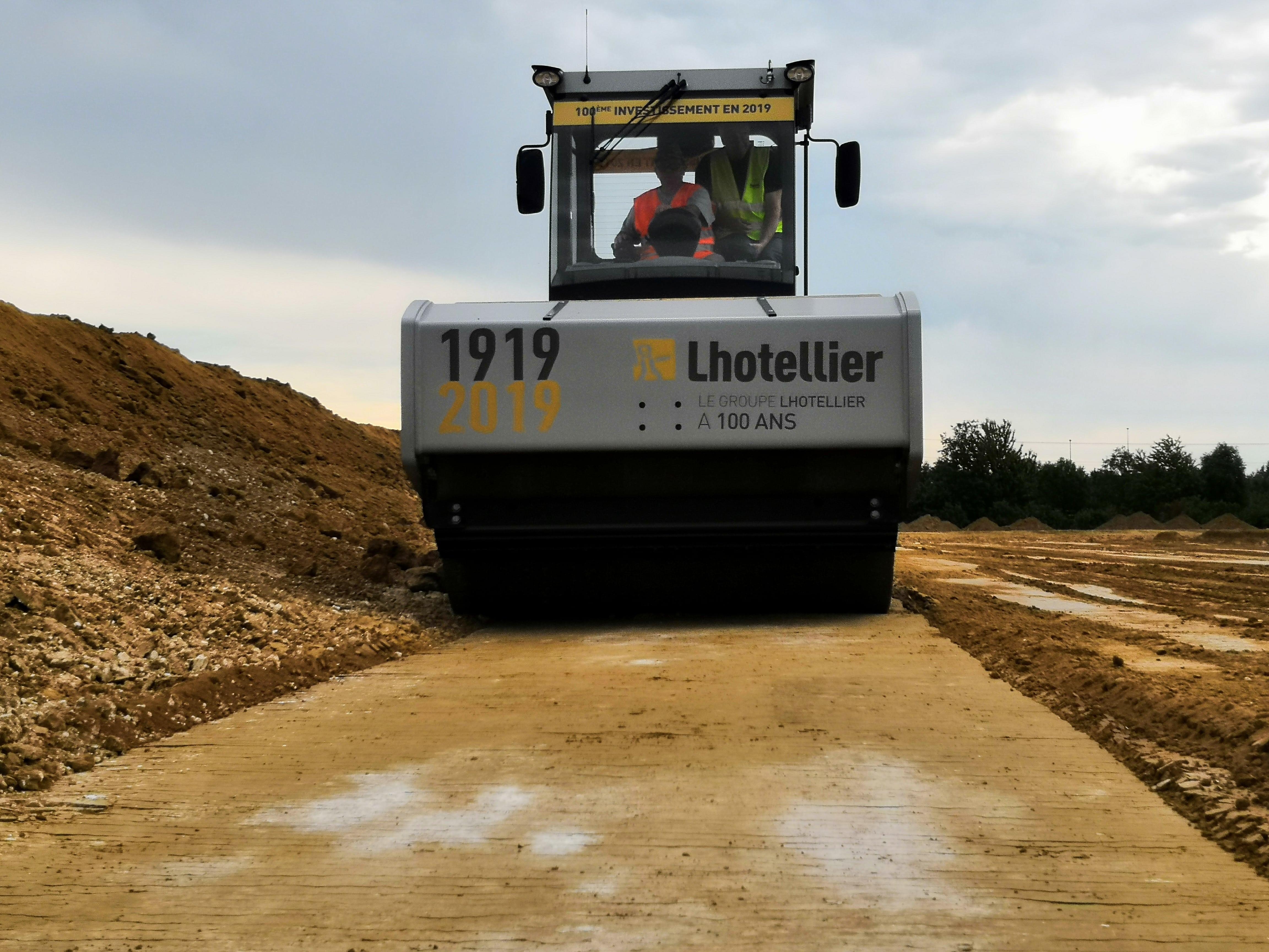 compacteur bomag BW219 Toufflin Lhotellier