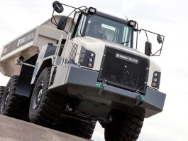 tombereau articule TA300 Terex trucks