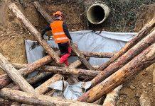 travaux erosion ecoulement eaux luzinet isere