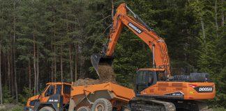 Une nouvelle pelle hydraulique Doosan de 30 tonnes conforme à la phase V