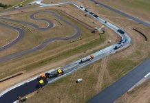 chantier circuit auxois sud colas refection piste