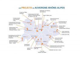 24 infrastructures Auvergne Rhône Alpes FRTP Pierre Berger