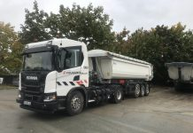 Eiffage GC Grand Paris Express Gaz Scania Volvo