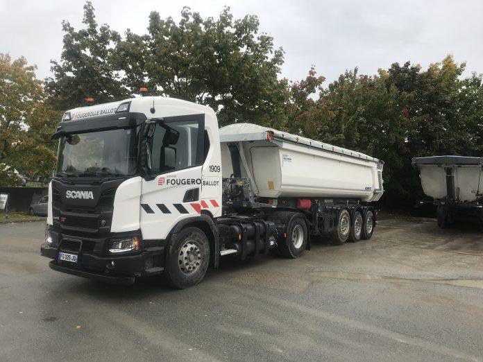 Eiffage GC Grand Paris Express Gaz Scania Volvo