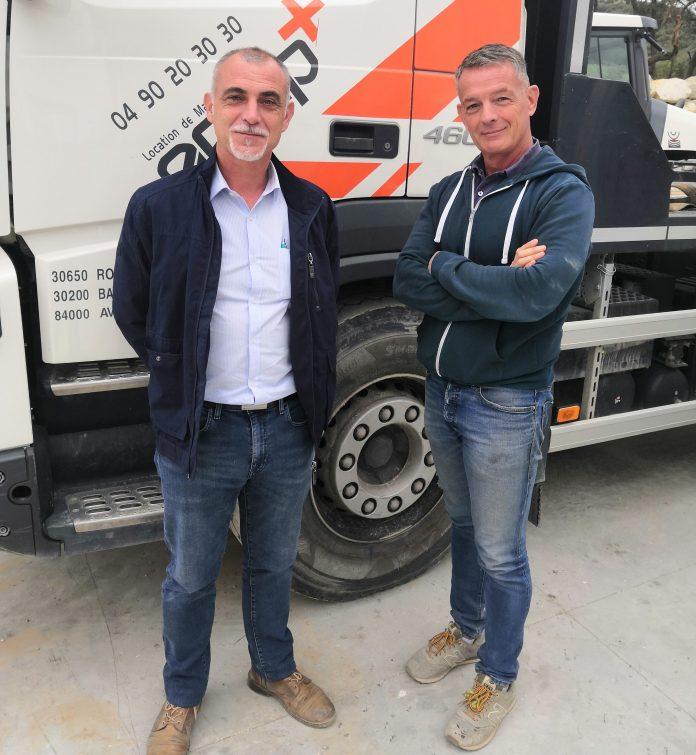 Vincent Mouton, LMTP Christophe Veldieu Equip+ location pelles hydrauliques Avignon Kobelco