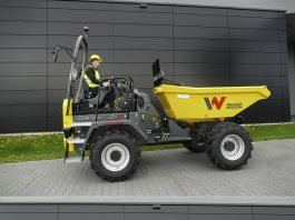 Wacker Neuson Dumpers Dual View sécurité