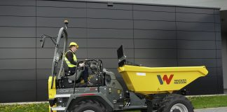 Wacker Neuson Dumpers Dual View sécurité