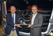Le nouvel Actros de Mercedes Trucks of the Year