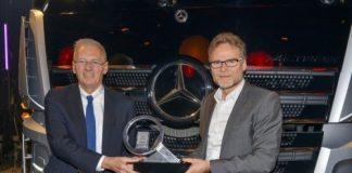 Le nouvel Actros de Mercedes Trucks of the Year