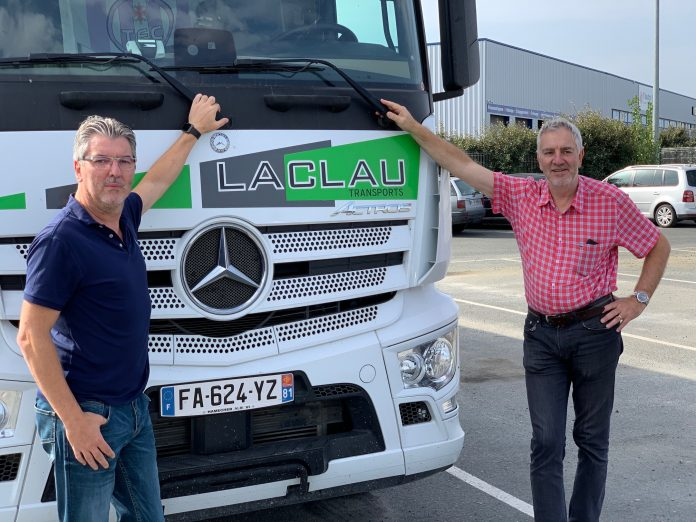 Transports Laclaus Mercedes Continental