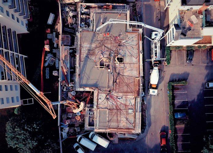 Unibéton fournit un béton intégrant des granulats recyclés de la déconstruction
