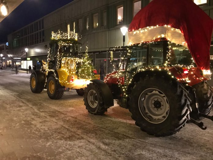 Sainte Lucie défilé machines Suède