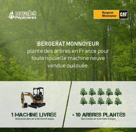 Bergerat Monnoyeur Environnement Pépénière Naudet Caterpillar