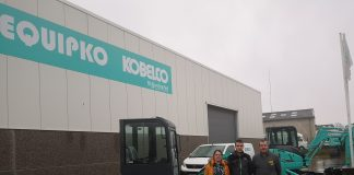 Equipko concessionnaire distribution pelles Kobelco Nord