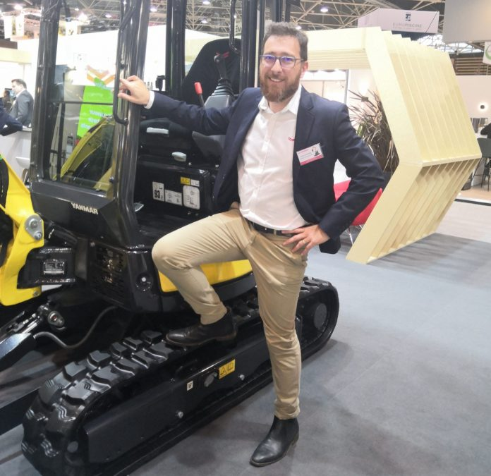 Julien Lefebvre Yanmar CE France mini pelles distribution