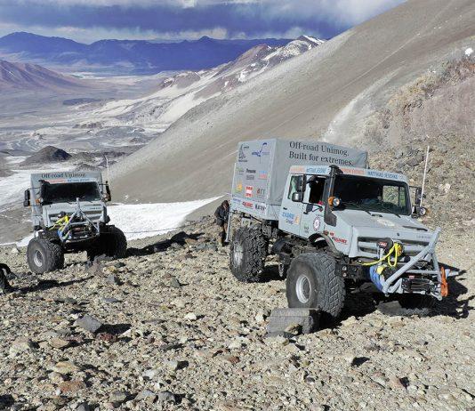Des Unimog en expédition au Chili
