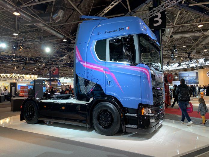 Scania Transport V8 moteur série limitée