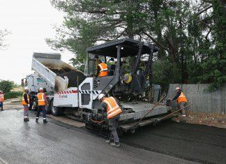 Eiffage Route Retraitement de chaussées en place Environnement Voirie Communale