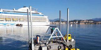Barge sur mesure pour dragage et manutention en Corse