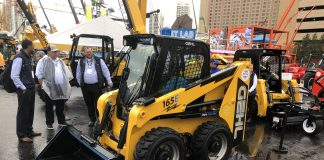 Skid Steer Electric Gehl Manitou Conexpo 2020