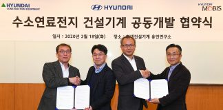 Hyundai commence le développement des pelles à hydrogène
