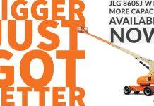 La nacelle JLG 860SJ est disponible en capacité de charge de 340 kg