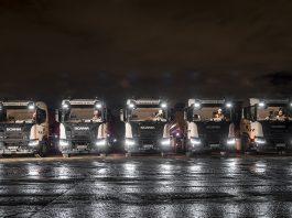 service de géolocalisation Scania