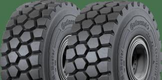 Continental pneus chargeuses sur pneus LIebherr