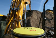Leica Geosystems 3D guidage pelles JCB 220 X David Recipon