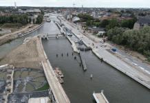 construction écluse et intégration urbaine