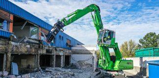 Sennebogen 825E demolition
