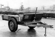 1945 - Mr JCBs first product a tipping trailer made from war time scrip Copy