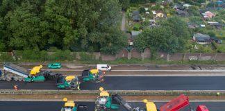 rénovation d'autoroute temps records Wirtgen
