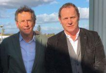 Michel Réguillon Pétavit, avec Bruno Moine, Président de Petavit de 2013 à 2020