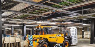 JCB ETECH Telehandler usine8