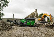 Evoquip Bison 120, House Demolition. Ireland. 2020 (32)