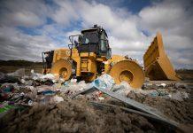 Cat 816 Waste Compactor