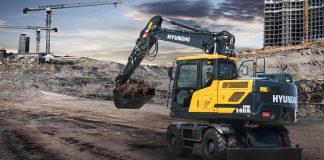 pelle Hyundai hw140a-excavator-at-work